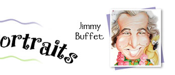 Jimmy Buffet by Laurie McAdam