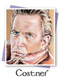 Costner portrait by Laurie McAdam